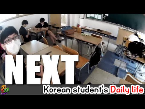 Joey) Korean student's daily life