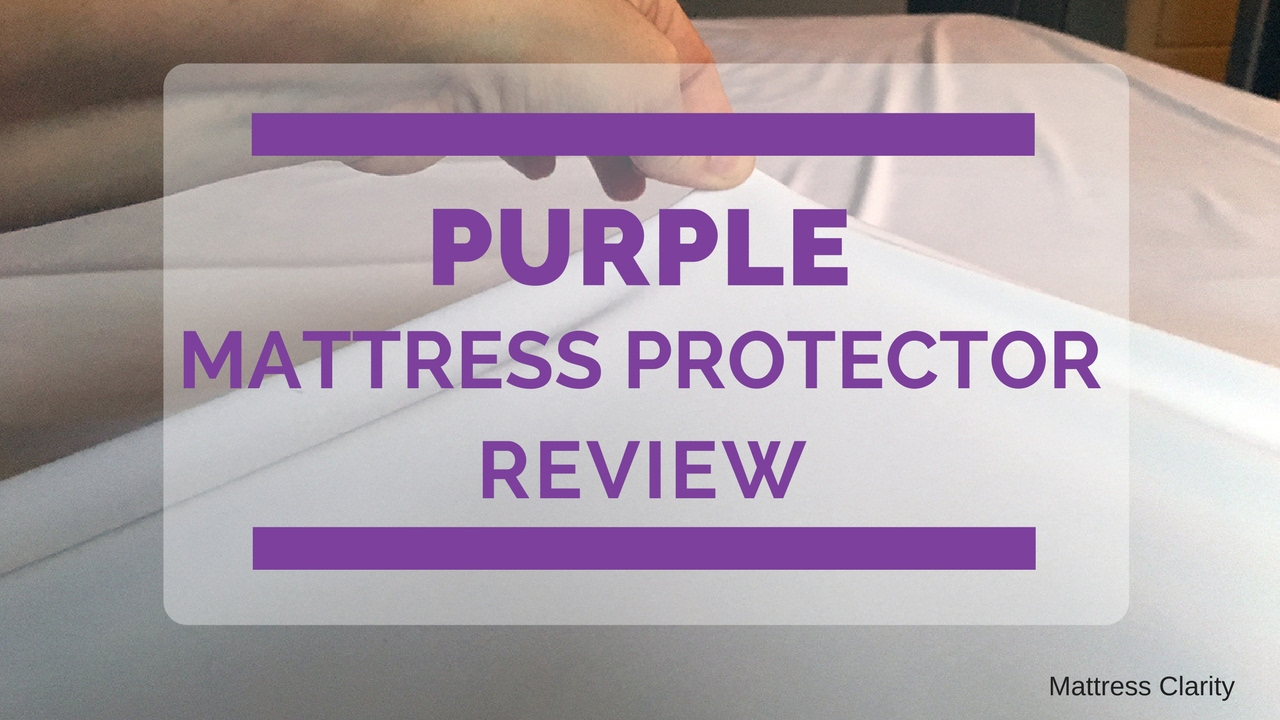purple mattress protector review not your average protector youtube. Black Bedroom Furniture Sets. Home Design Ideas