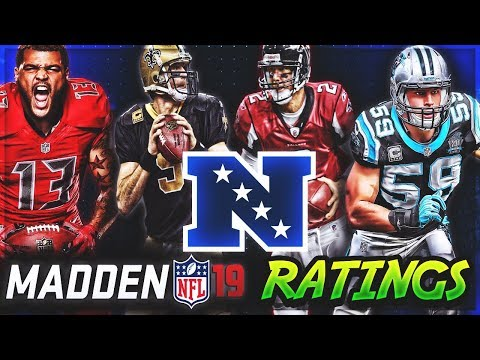 NFC SOUTH Madden 19 Player Ratings | c4's Custom Madden 18 Rosters