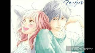 Ao Haru Ride opening 1 - nightcore