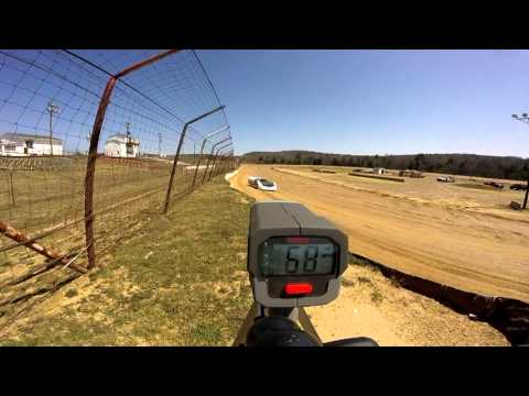 Dog Hollow Speedway - 4/16/16 Crate Late Model Practice Session #1