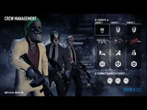 AI HAS INSPIRE! | Crew Management Open Beta Testing | Payday 2