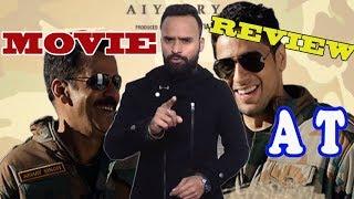 Aiyaary   Black Panther   Movie Review by AT   Chadwick Boseman   Sidharth Malhotra   Manoj Bajpayee