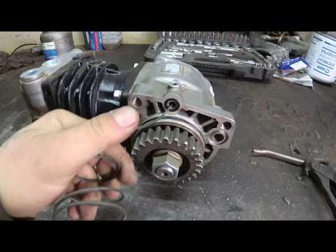 Как поставить одноцилиндровый компрессор на камаз вместо двухцилиндрового