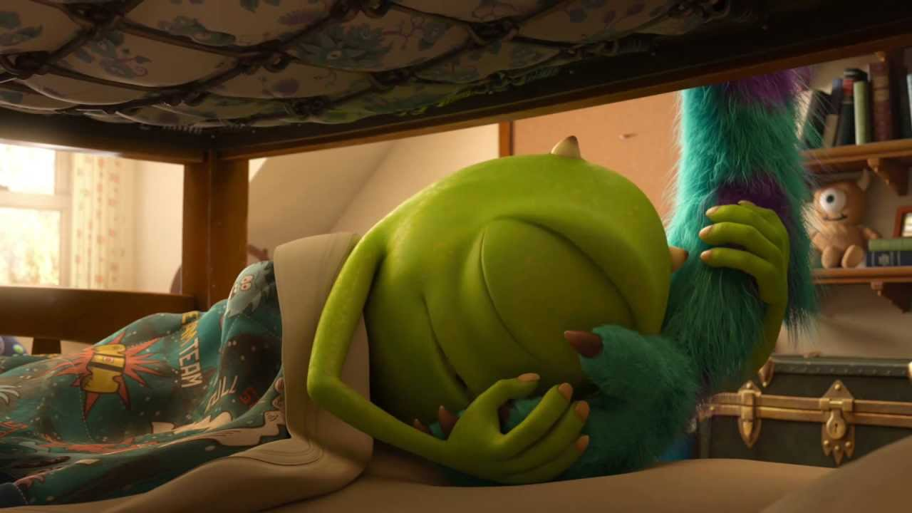 Monsters University Clip - Mike and Sulley's First Morning | Official Disney Pixar HD