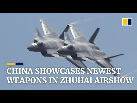 China military news: showcases of its newest weapons in Zhuhai Airshow