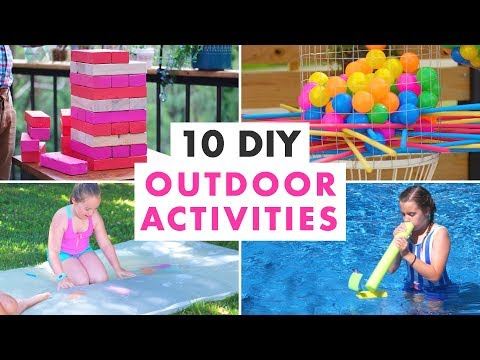 10 DIY Outdoor Activities and Backyard Games - HGTV Handmade - YouTube