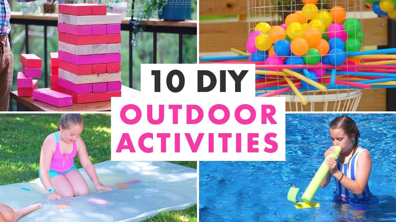 10 Diy Outdoor Activities And Backyard Games Hgtv Handmade Youtube