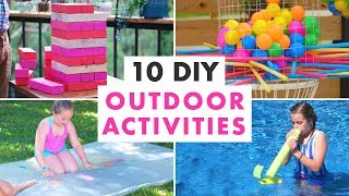 10 DIY Outdoor Activities and Backyard Games - HGTV Handmade