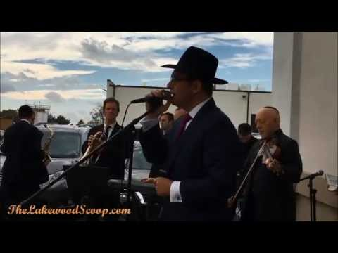 Dovid Gabay at Moerman Wedding Chupah Lakewood