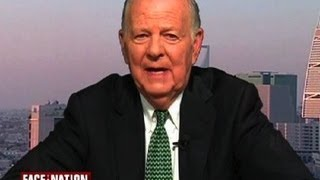 "James Baker: ""Cagey"" Putin thinks Obama ""inconsistent,"" not weak"