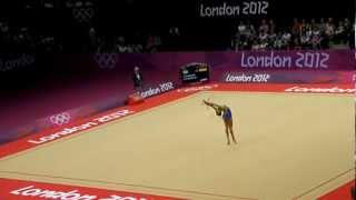 Evgeniya Kanaeva Rhythmic gymnastics 1st round London 2012.MP4(Russian rhythmic gymnast Evgeniya Kanaeva in the first round of the London 2012 Olympics. Русская художественной гимнастике Евгения Канаева в перв..., 2012-08-09T18:36:14.000Z)