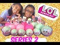 LOL DOLLS SERIES 2 HACKS WHO WILL WE GET? OPENING LIL SIS AND BIG SIS