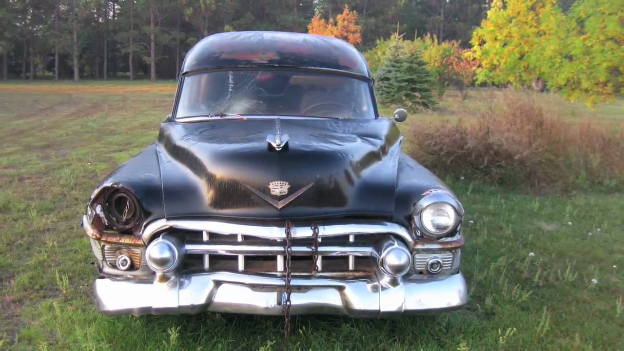 1953 Cadillac Hearse For Sale Youtube