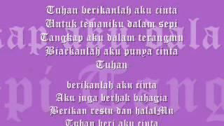 Download Mp3 Tuhan Beri Aku Cinta-karaoke-