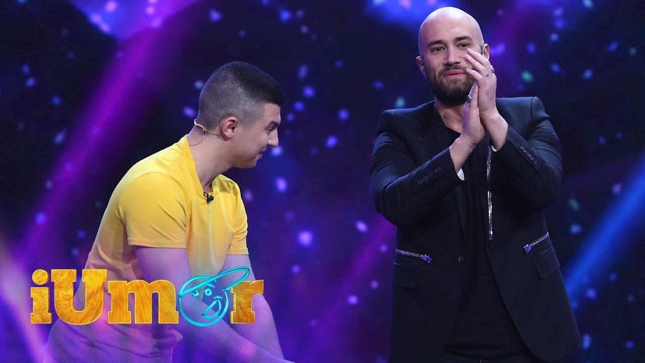 Mihai Bendeac, ajutor de magician la iUmor! Răzvan Faraoanu face cele mai tari trucuri cu cărți