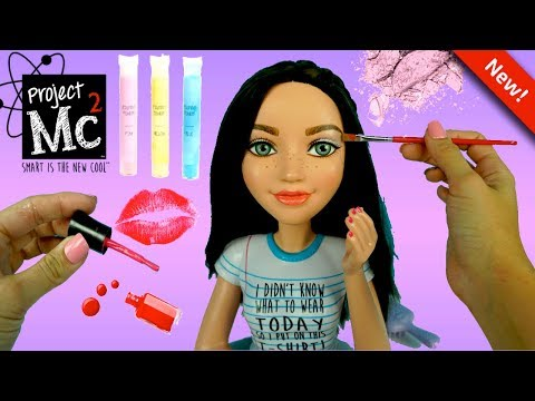 Project Mc2 Electric Styling Head Doll  & DIY Make up Kit Nail Polish  – Titi Toys & Dolls