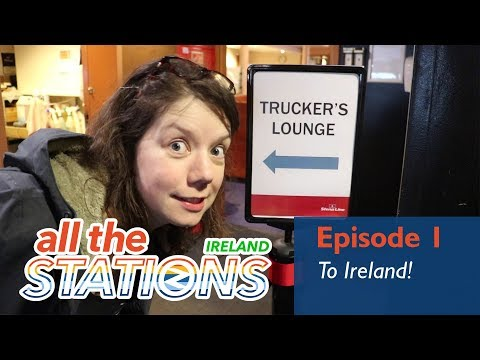 It's Really Windy! - Episode 1, 22nd March (Boat To Ireland)