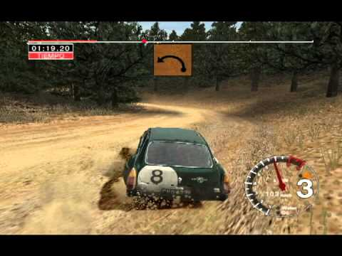 all cars colin mcrae rally 04 pc 15 mgc sebring special youtube. Black Bedroom Furniture Sets. Home Design Ideas