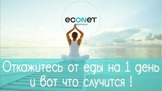 Откажитесь от ЕДЫ на 1 день и вот, что  СЛУЧИТСЯ!  | ECONET.RU