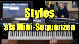 Genos - Styles als Mini-Sequenzen/Midifiles