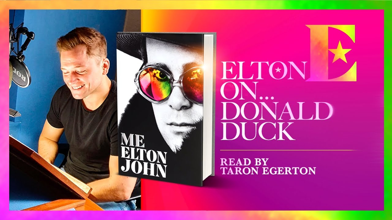 Elton John on *That* Donald Duck Outfit — 'Me' Book Extract