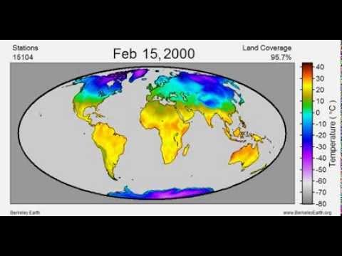 Daily Average Temperature 1880-2013