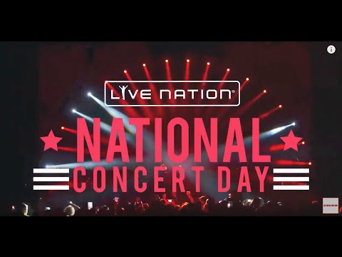 JUST ANNOUNCED: Live Nation's 2nd Annual National Concert Day