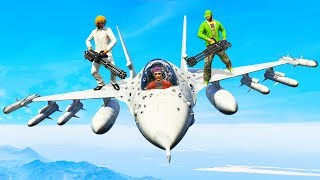 GREATEST EVER JET TAKEDOWN! (GTA 5 Minigames)