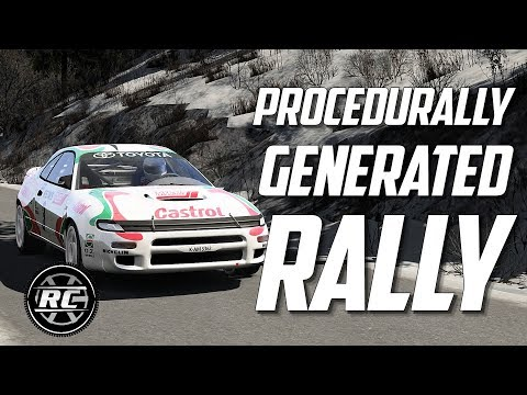 Procedurally Generated Rally stages for Assetto Corsa