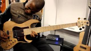 Namm 2013 - Utrera Custom -   Adam Johnson's  Bass player