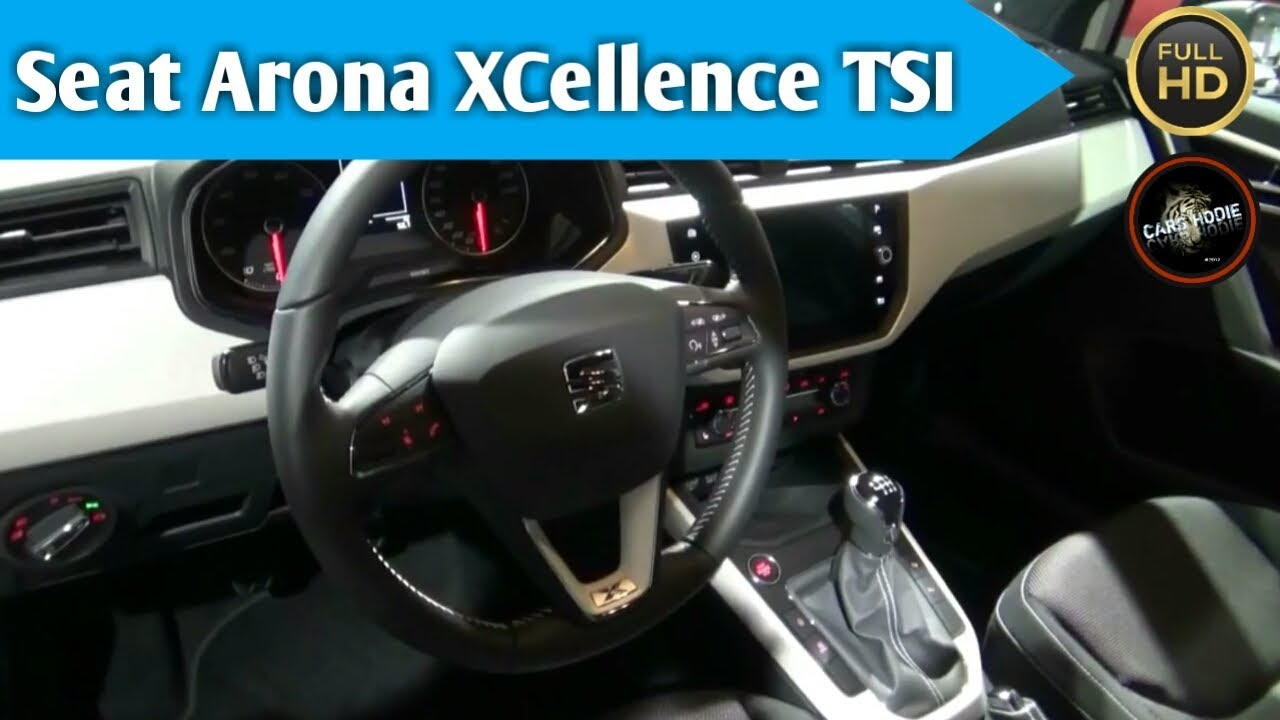 2018 seat arona xcellence tsi exterior and interior youtube. Black Bedroom Furniture Sets. Home Design Ideas