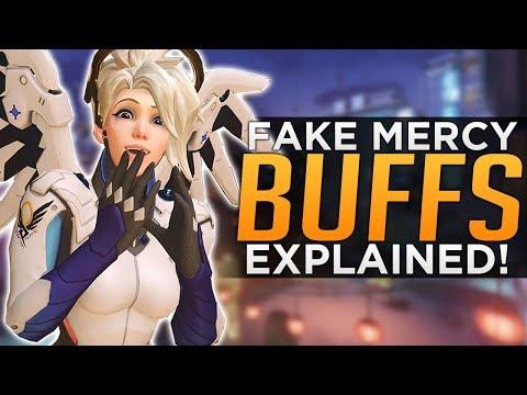 "Overwatch: Mercy & Symmetra ""BUFFS"" Explained - HUGE Doomfist BUGS!"