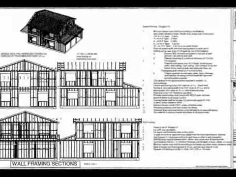G318 Custom 32 x 40 8 Two Story Garage Plan YouTube – 32X40 Garage Plans