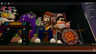 Roblox Chuck E. Cheese's Essex, MD: Moving Munch, Jasper, Pasqually And Wink Animatronic Testing.