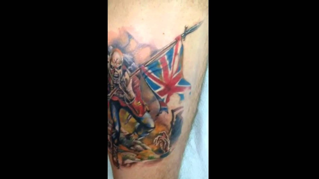 Iron Maiden at The Forum: Concert Review - Tattoo.com  |Iron Maiden Somewhere In Time Tattoo