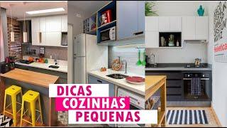 Como decorar cozinha pequena   10 D CAS QUE VsO FAC L TAR SUA V DA