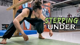 Stepping Under (Natural Movement Skill)