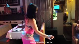 Dança do Ventre - Allana Alflen - Improvisando na Khan el Khalili 2014