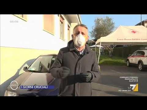 Coronavirus, le ultime notizie dalla Croce Rossa di Bergamo