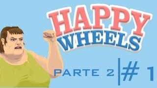 Mis gordinfielis | Happy Wheels Ep. 1 Parte 2 | LexusMan