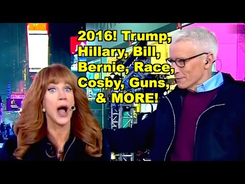 Trump, Hillary, Bernie, Guns, Cosby - Kathy Griffin, Donald Trump MORE! LV Sunday Clip Round-Up 141