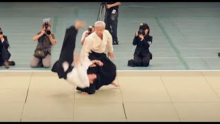 Excellent Aikido Demonstration Ueshiba Moriteru Doshu - 植芝守央道主 - 合気道 - [HD]