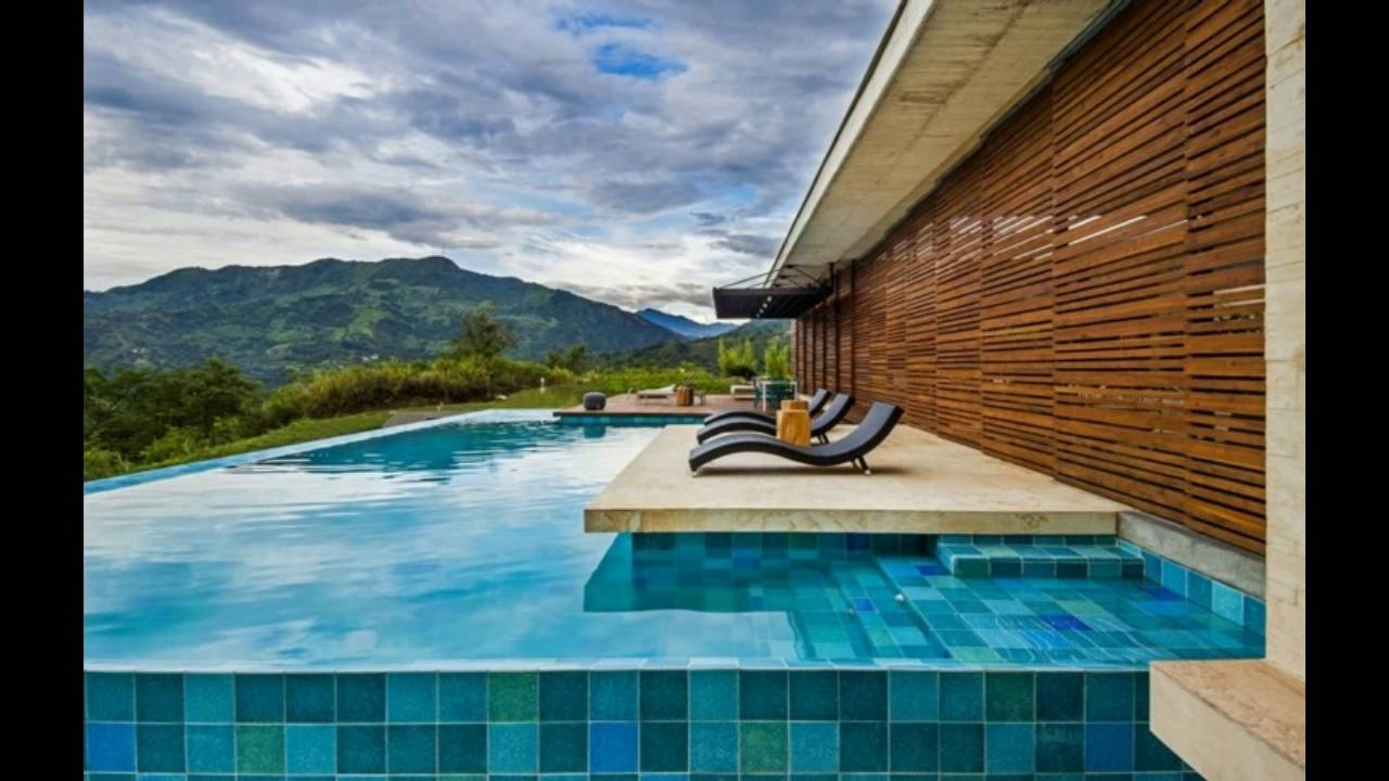 Dise o de exteriores con piscina youtube for Programa diseno de piscinas 3d gratis