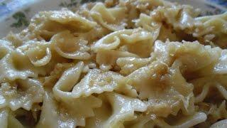 Káposztástészta Braised Cabbage With Pasta