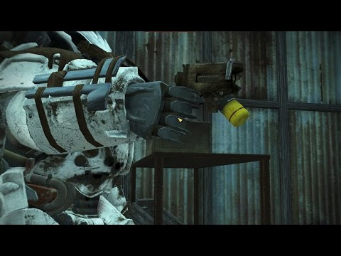 "Fallout 4: The ""Zappah!"" gun"