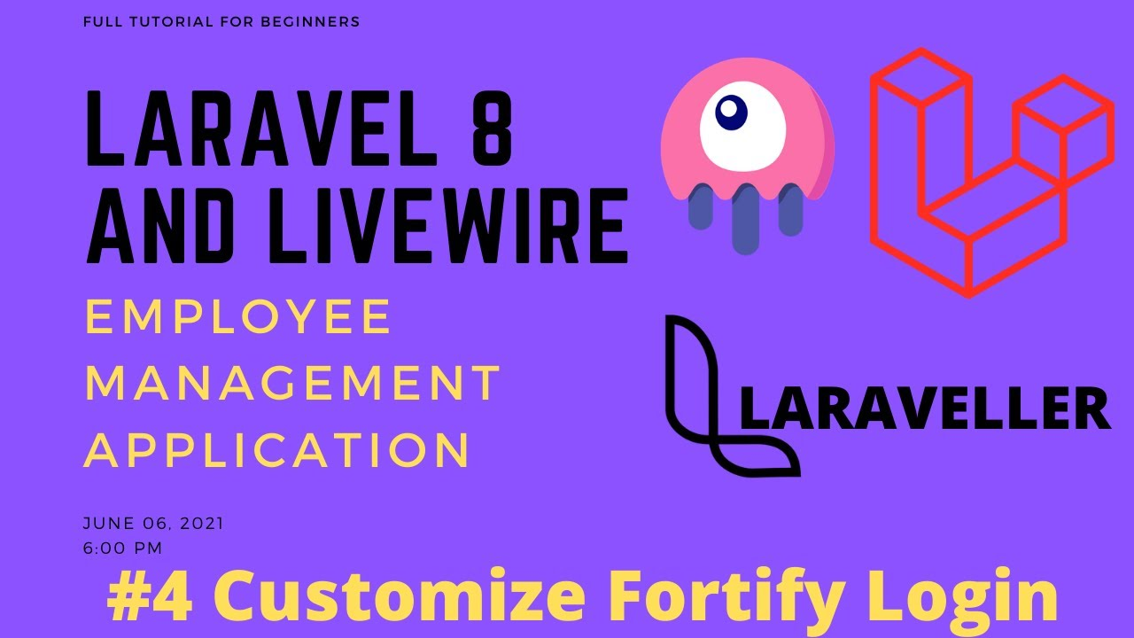 Laravel Livewire Tutorial-Employees Management Project-Customize Fortify LoginAttempts 04