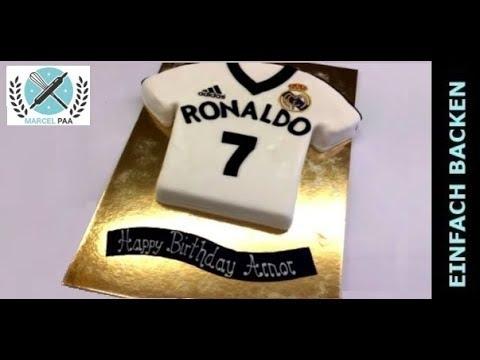 Ronaldo Fussball Trikot Torte Youtube