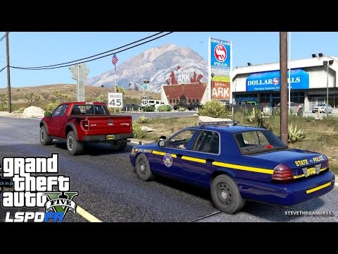 GTA 5 LSPDFR EPiSODE 118 - LET'S BE COPS - NYSP PATROL (GTA 5 PC POLICE MODS) from YouTube · Duration:  20 minutes 8 seconds