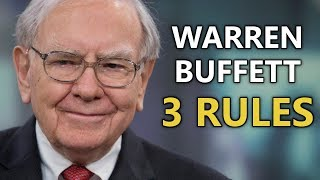 Warren Buffett's Essential Advice for Stock Investors (3 Key Principles)